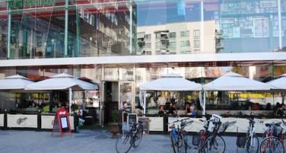 O´Learys på Liljeholmen i Stockholm köpte parasoller