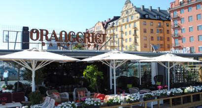 Orangeriet i Stockholm köpte värmare och parasoller som förlänger utekvällarna.