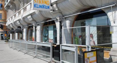 Stockholm Strand Spa köpte höj- och sänkbar inglasning