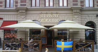 Svensson Kök & Bar i Sundsvall köpte bl.a. två stora parasoller