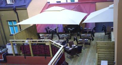 Tandoori House i Karlstad köpte bl.a. parasoller