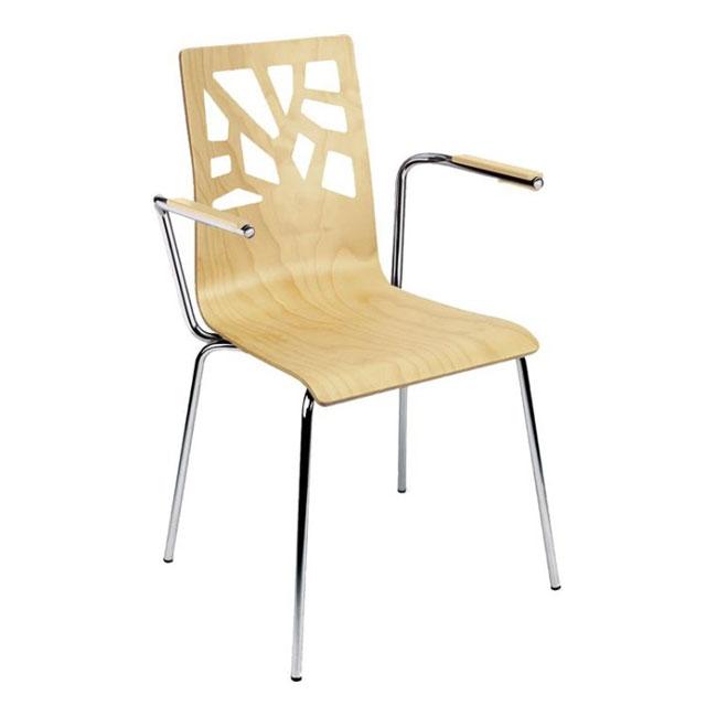 VerandaUteServeringar.se-Konferensstol-Avant-mönster-armstöd-bok-lackad_650x650