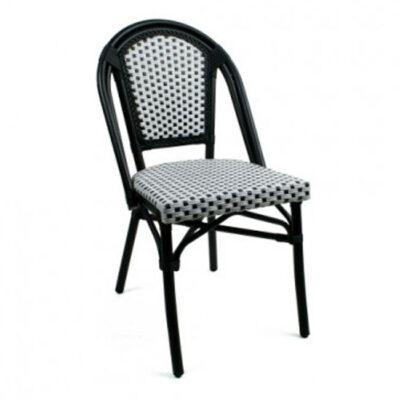 VerandaUteServeringar.se-Brasserie-Stapelstol–svartvit_w650x650