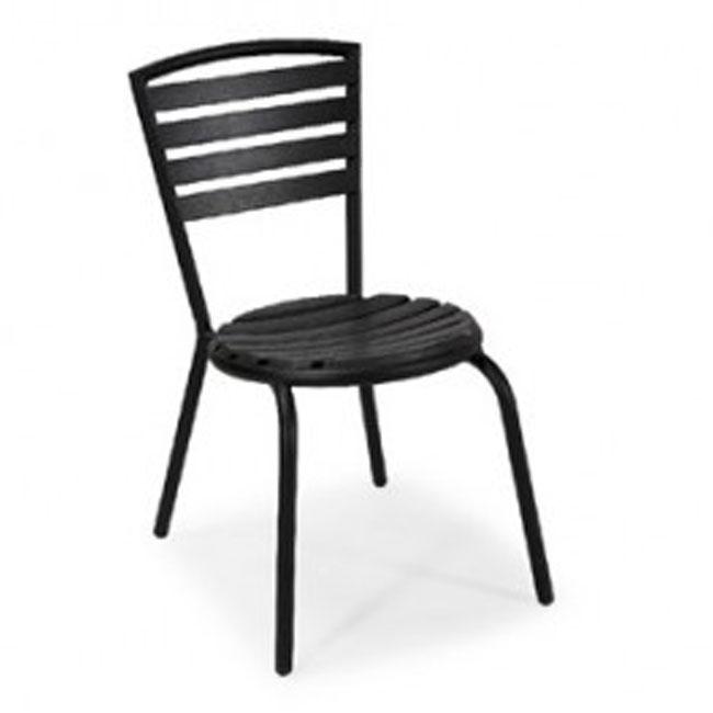 VerandaUteServeringar.se-Brighton-Stapelstol-aluminium-svart_w650x650