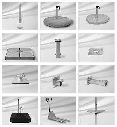 Fortero-parasoll-tillbehör