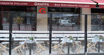 Restaurang Grappa i Stockholm - den längsta, snyggaste och mest ombonade uteserveringen?