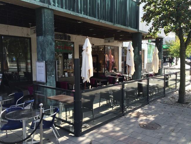 Asia By Miyabi på Lidingö, de nya utemöblerna och inglasningen dubblerade antalet gäster!
