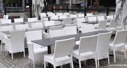 Södra Teatern i Stockholm, fick speciella vita fåtöljer framtagna med hjälp av Veranda.