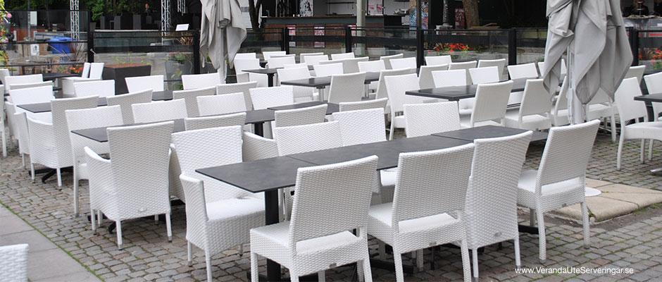 Södra Teatern i Stockholm, fick speciella vita stolar framtagna med hjälp av Veranda.