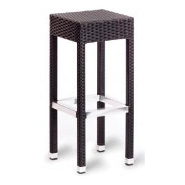 Sorrento Barstol – helflätad aluminium