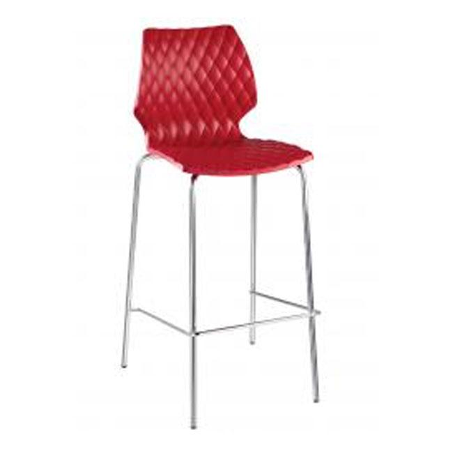 veranda.se-Uni-Barstol-röd-stålrör-polypropylen_w650x650