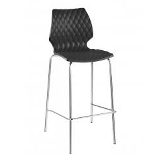 veranda.se-Uni-Barstol-svart2-stålrör-polypropylen_w650x650