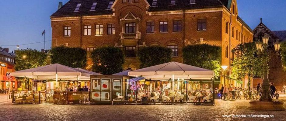 Verandauteserveringar Stortorget Restaurang Lund